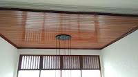 plafon bali kayu
