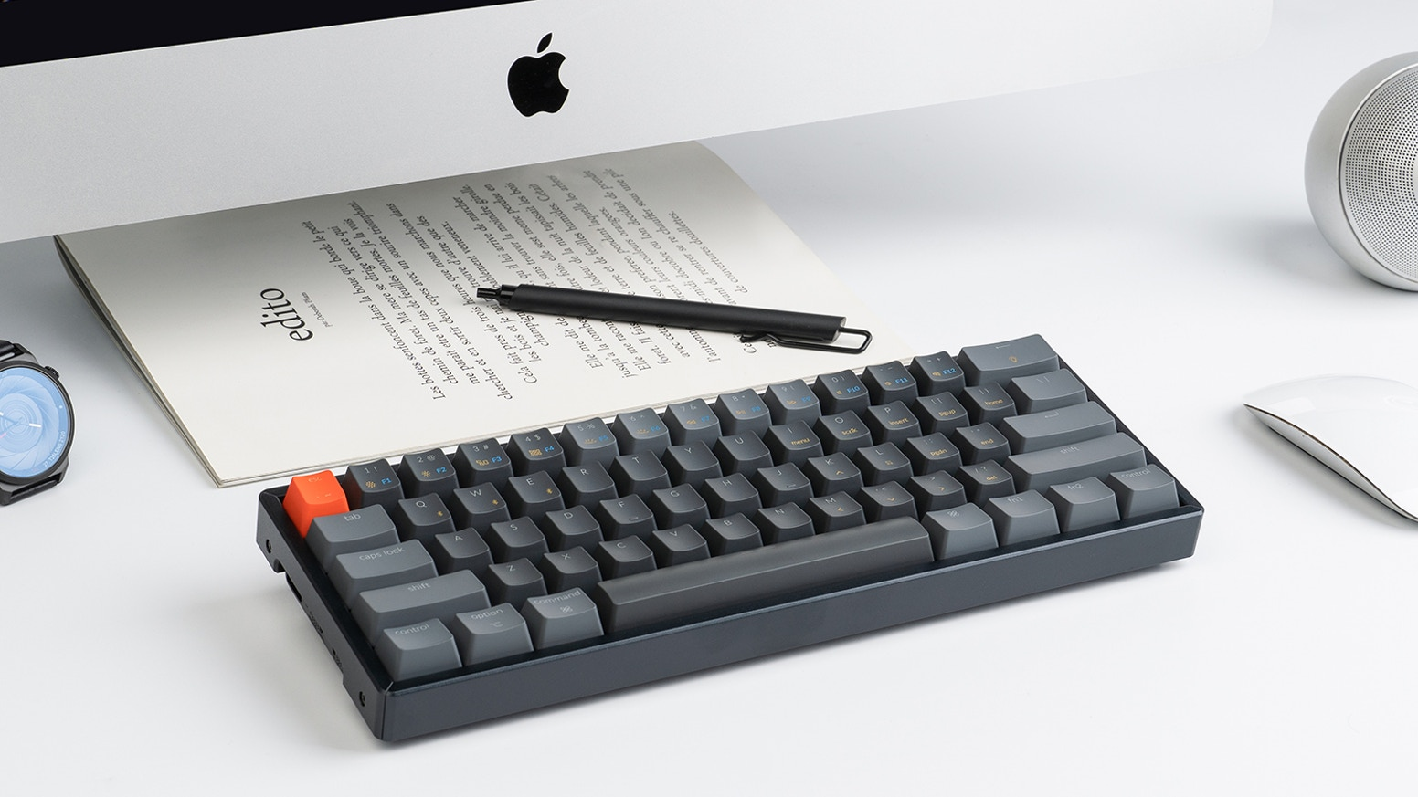 Keychron K12 - A Versatile 60% Wireless Mechanical Keyboard