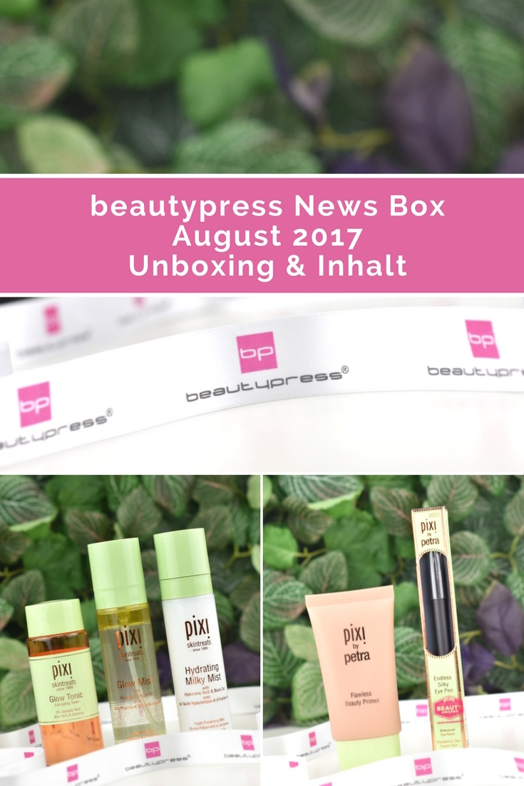 beautypress News Box August 2017 - Unboxing und Inhalt