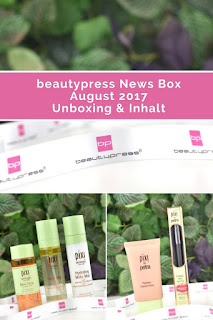 [Unboxing] beautypress News Box August 2017