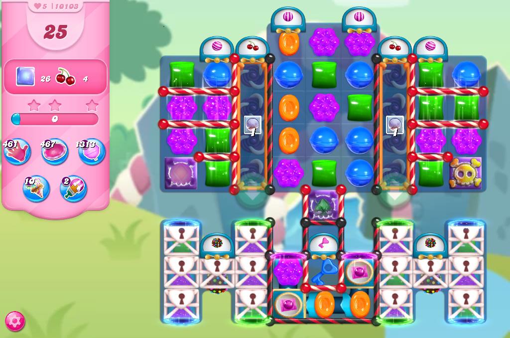 Candy Crush Saga level 10103