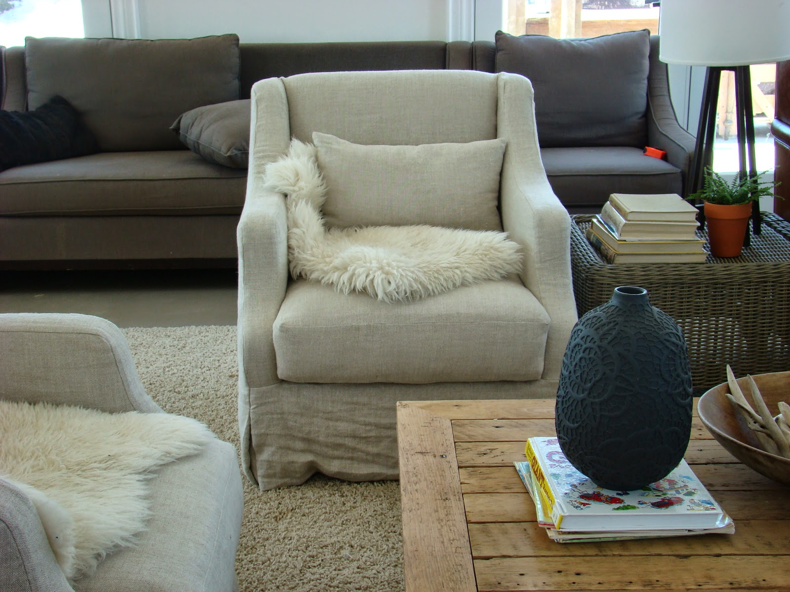 How To Clean Belgian Linen Sofa French Building Walnut Farm Slipcovered Furniture