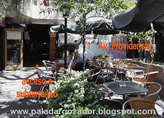 The Black Rock Pub terraza