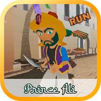 Prince Ali Run in Market