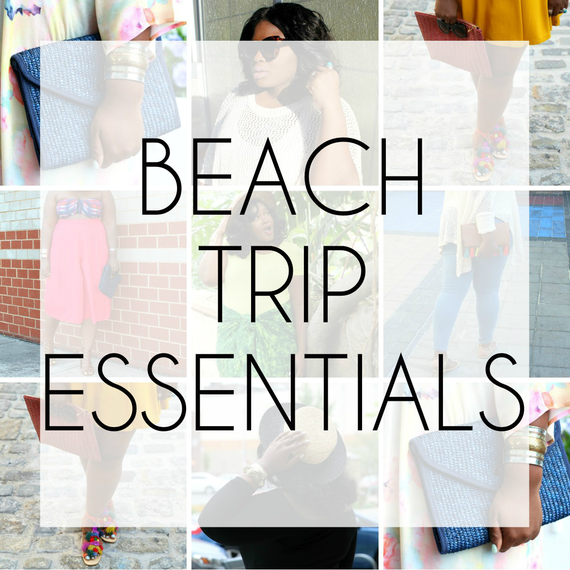 TOP 5 BEACH TRIP ESSENTIALS