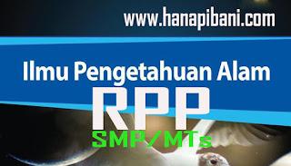 RPP IPA 1 Lembar Kelas 7 8 9 SMP/MTs Revisi 2020