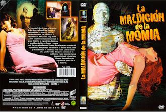 Carátula: La maldición de la momia (1964)(The Curse of the Mummy's Tomb)