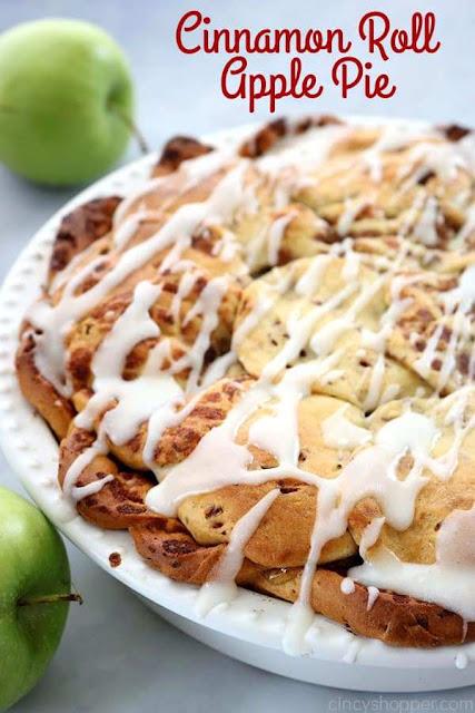 Cinnamon Roll Apple Pie Recipe