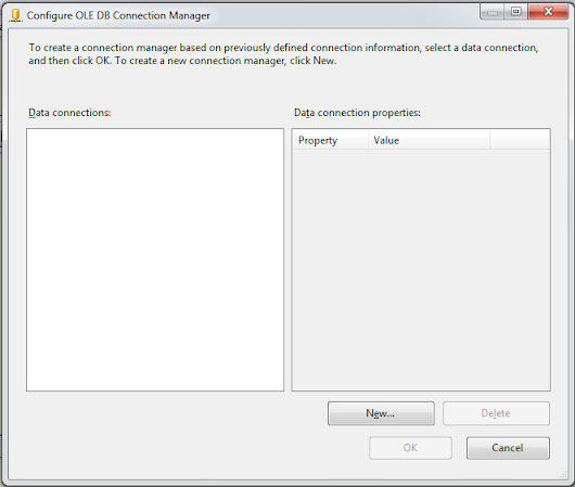 Creating connection manager in SSIS