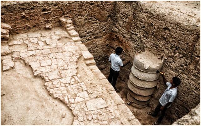 Jayasree Saranathan Harappa Like Structure Found In