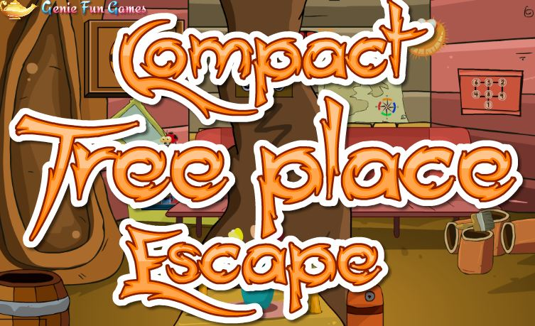 GenieFunGames Compact Tree Place Escape