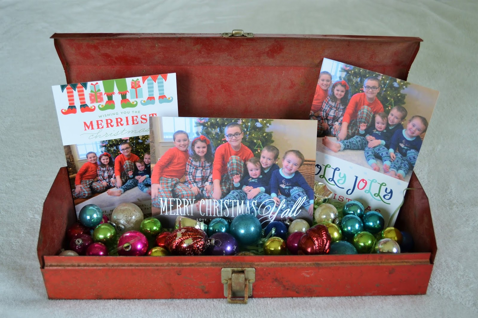 The Big White Farmhouse: No.190: Sending Christmas Photo Cards with ...