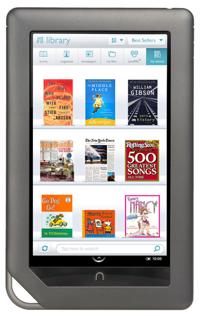 Dpl News Amp Views Overdrive App Comes To Nook