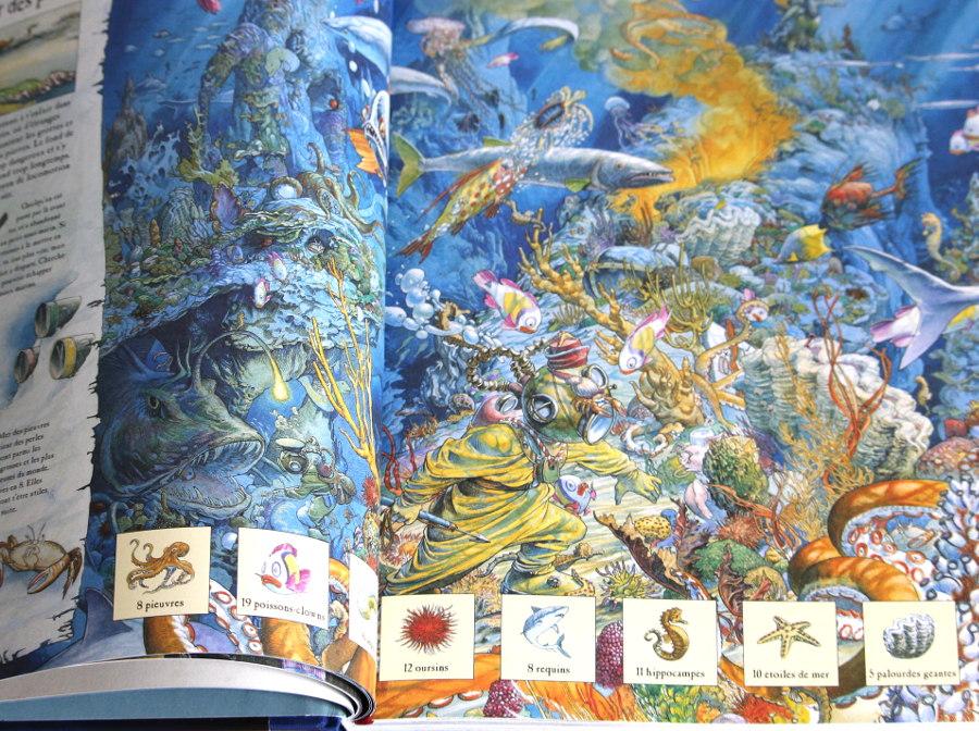 Mon grand livre de quêtes fantastique - usborne