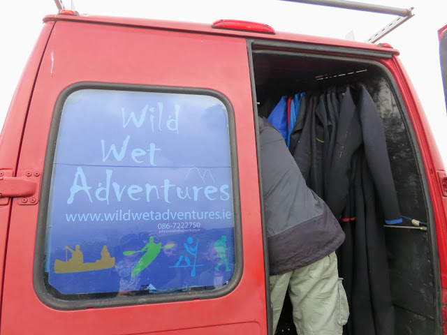 Sligo's Wet Wild Adventures Van