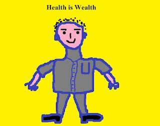 healthy cartoon