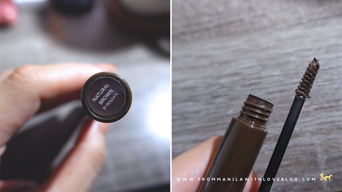vice cosmetics natural brown brow gel