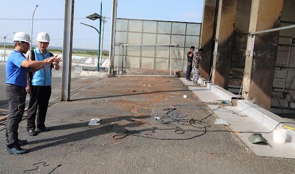 鹿港鎮垃圾轉運站改善 清潔隊員工作環境更安全