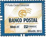 Selo Banco Postal