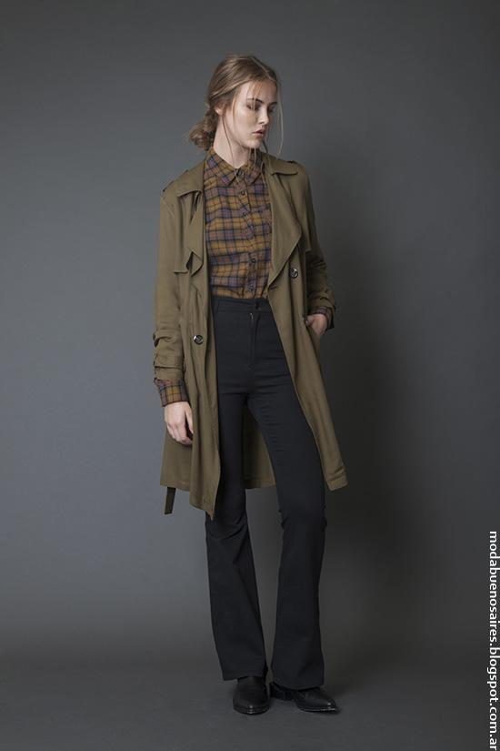 Moda mujer invierno 2016 ropa casual urbana Bled.