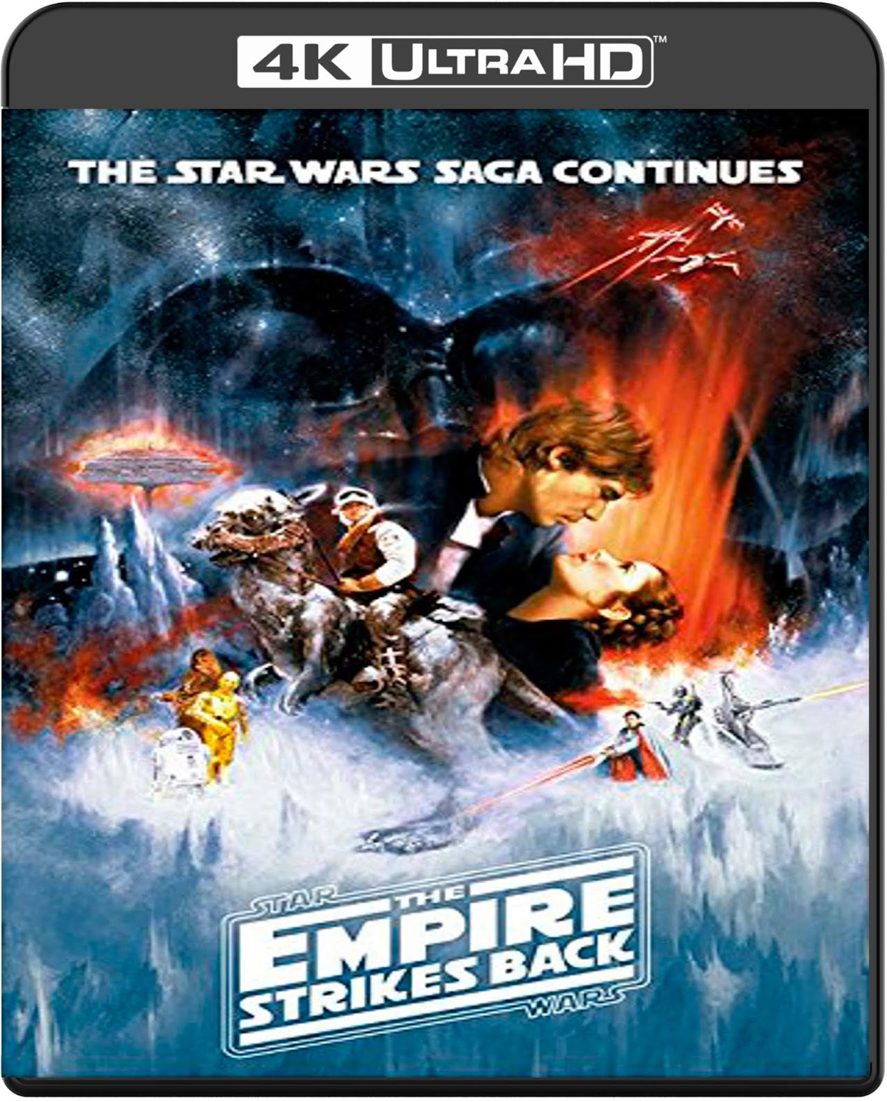 Star Wars. Episode V: The Empire Strikes Back [1980] [UHD] [2160p] [Latino]