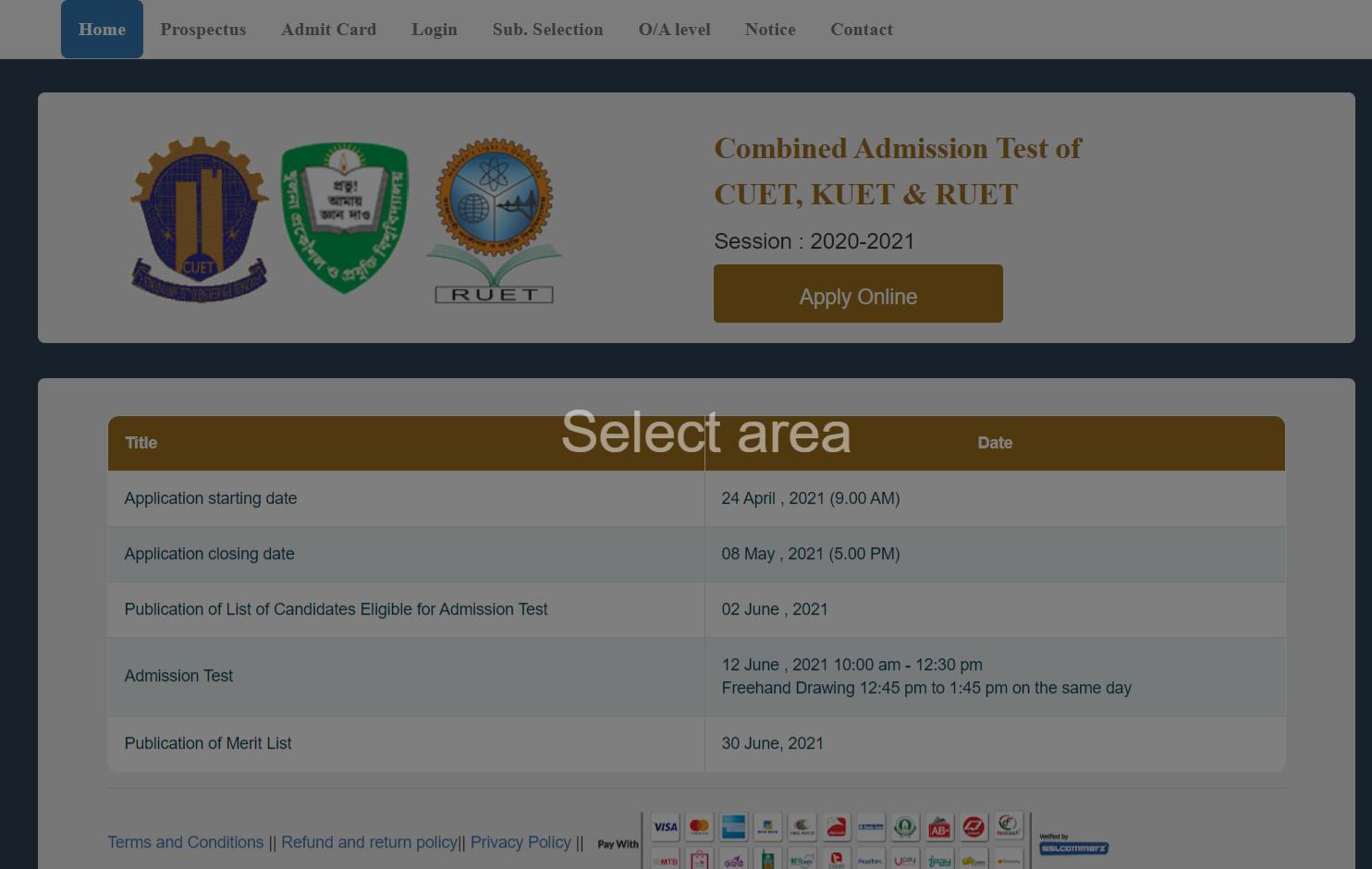 admissionckruet.ac.bd