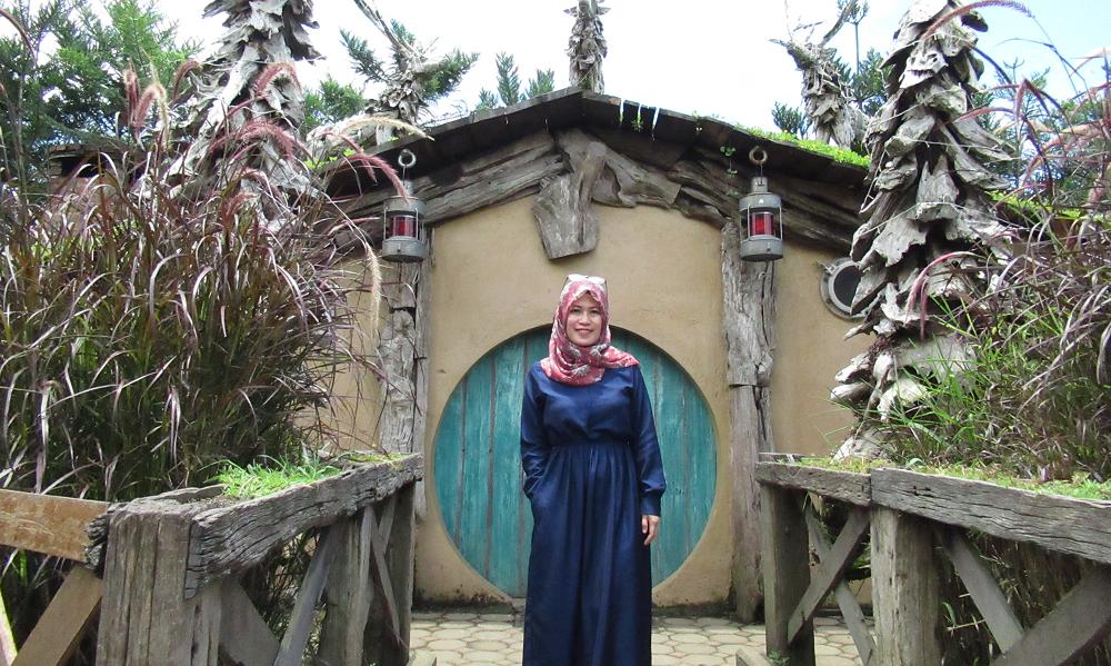 Rumah Hobbit Farm House Lembang Bandung