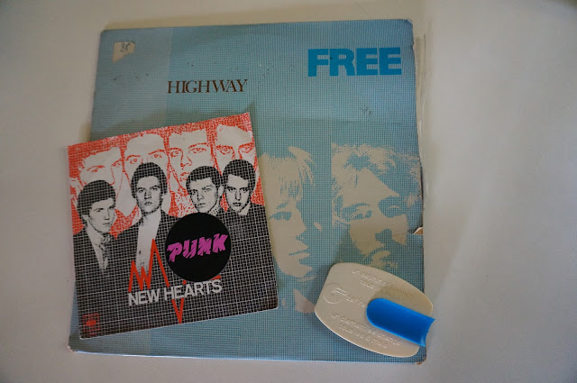 vintage free highway french press lp 1970s 70s NEW HEARTS Just another teenage anthem 1977 punk