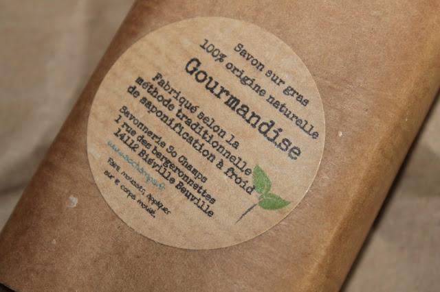 Savon sur gras Gourmandise - So Champs