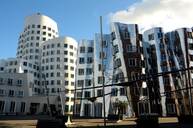 düsseldorf architectuur, medienhafen, citytrip düsseldorf,