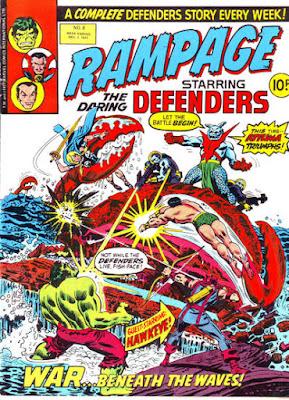 Rampage #8, Attuma