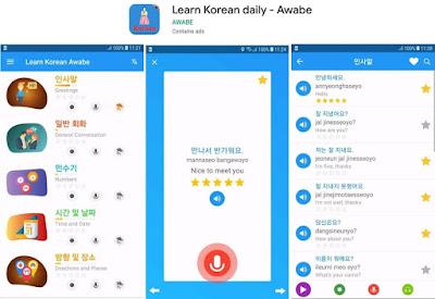 kamus bahasa korea lengkap
