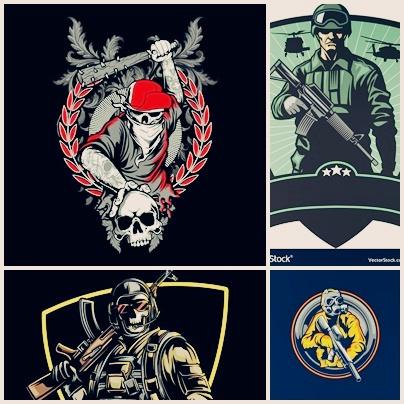 gambar logo squad pubg keren