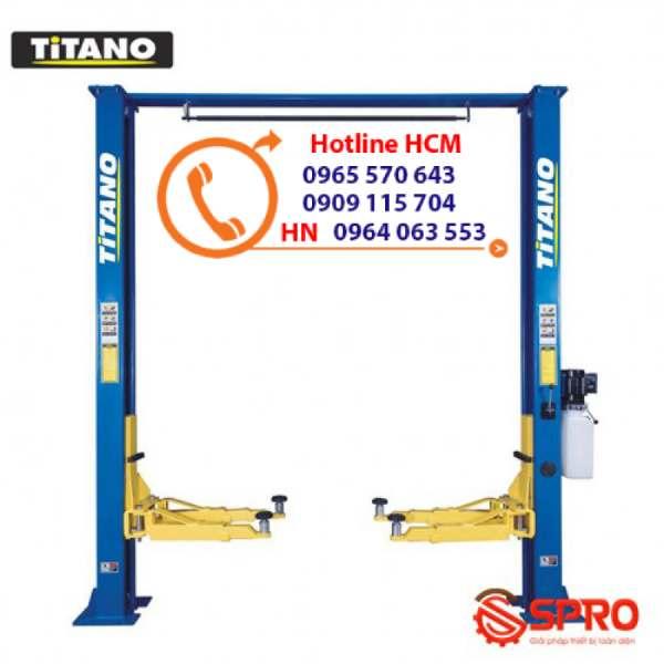 Cầu nâng 2 trụ giằng trên Titano TC4000