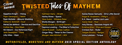 Twisted Tales of Mayhem Cover Reveal!!!
