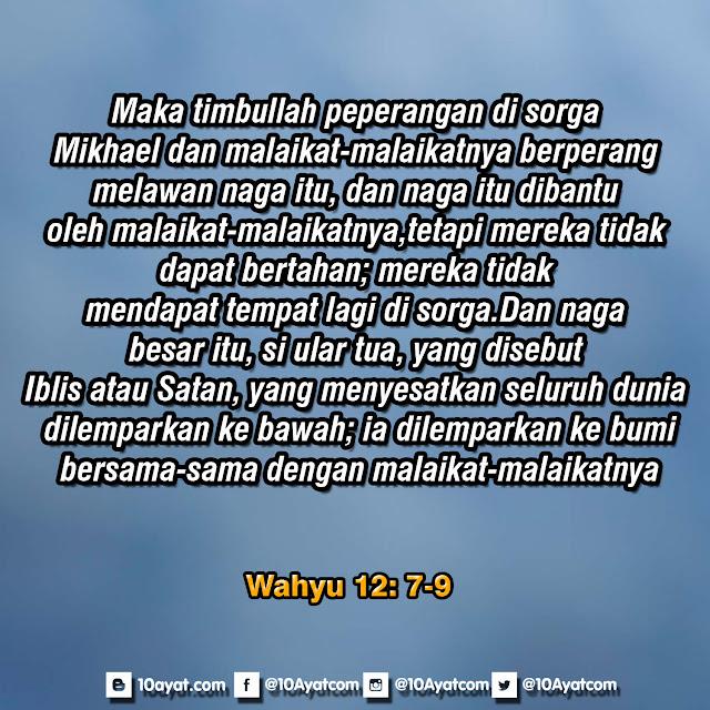 Wahyu 12: 7-9