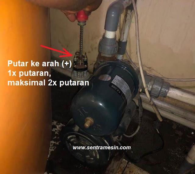penyebab pompa air mati