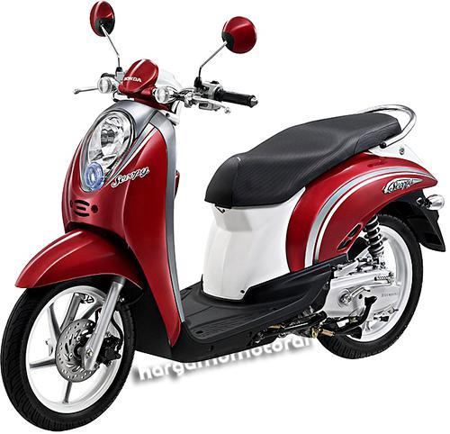 Gambar Motor Honda Scoopy