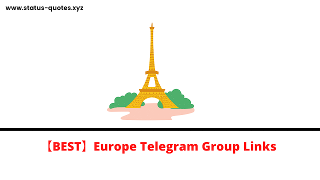 Europe Telegram Group Links
