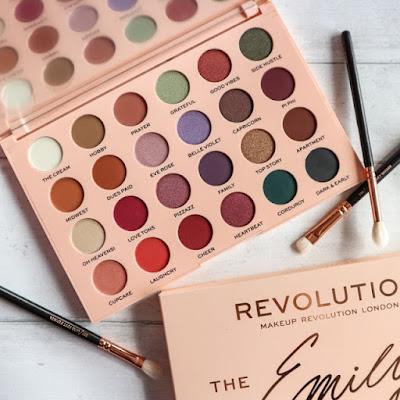 Makeup Revolution x Emily Noel Collection
