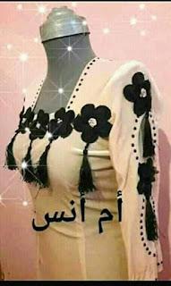 موديلات قنادر صيفية للعيد رووعة 2019 - افضل قنادر العيد 2019 7