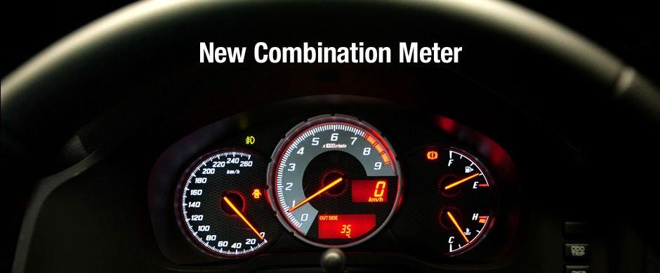 ft86 new combination meter