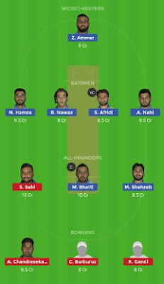 PTL vs FDF dream 11 team | FDF vs PTL
