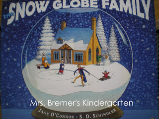 The Snow Globe Family book study winter literacy unit with Common Core aligned companion activities and a craftivity for K-1