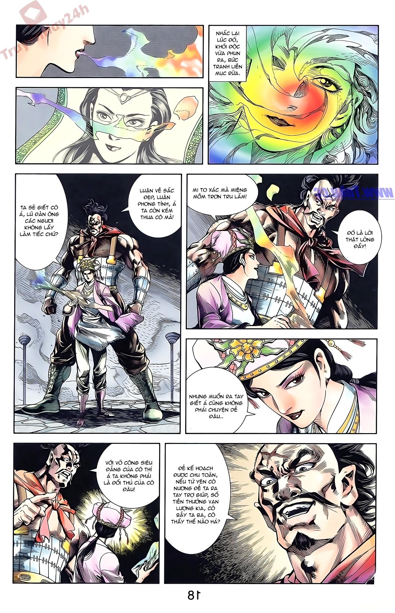 Tần Vương Doanh Chính chapter 50 trang 18