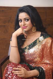 Udaya Bhanu lookssizzling in a Saree Choli at Gautam Nanda music launchi ~ Exclusive Celebrities Galleries 013.JPG