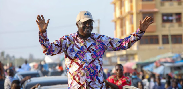 Former Prime Minister Raila Odinga photo
