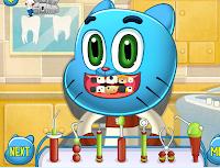لعبة غامبول دكتور الاسنان