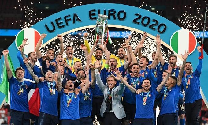 ITALIA VENCE A INGLATERRA EN TANDA DE PENALES Y SE CORONA CAMPEÓN DE LA EURO 2020 EN WEMBLEY