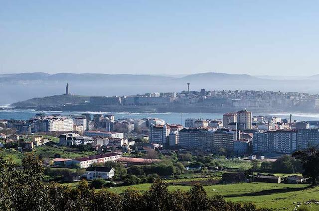 Ruta de los Balcones de A Coruña